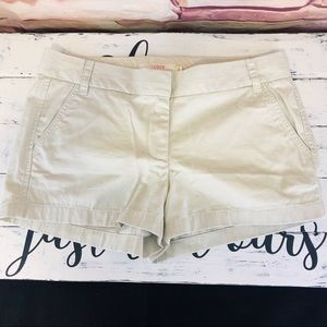 J. Crew Oxford Chino Shorts NWOT